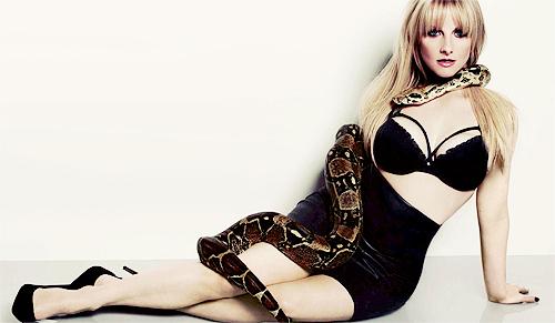 melissa rauch snake